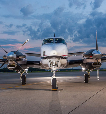 beechcraft king air 90 private jet